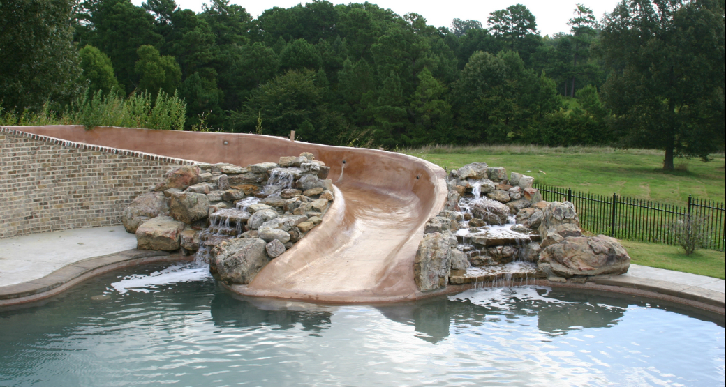 Swimming Pool Water Features Tn Advanced Pools Inc
