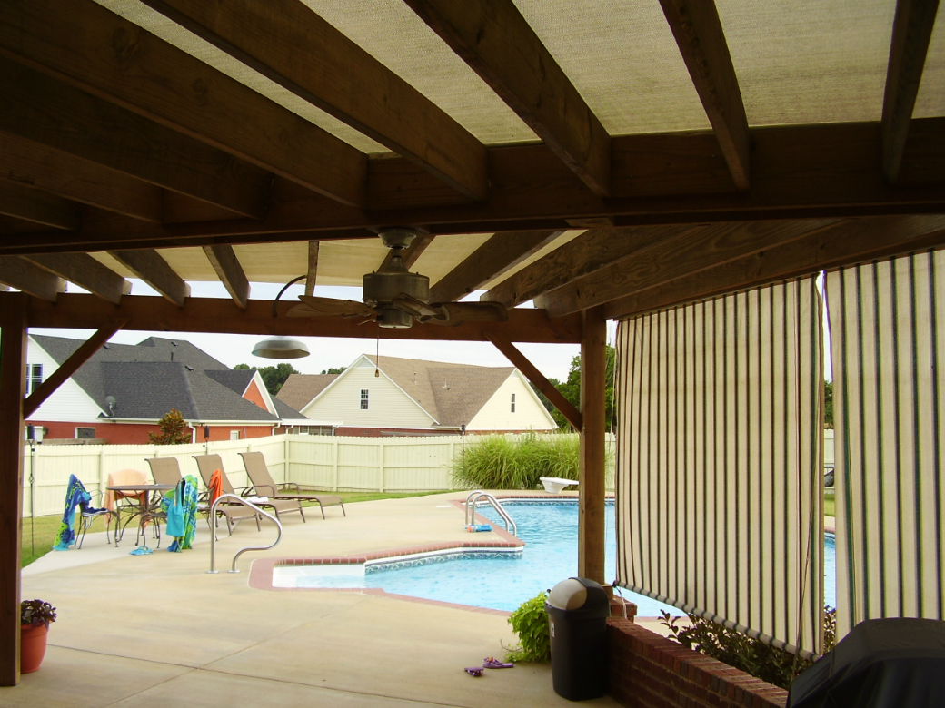 Add a pool house this summer advanced pools inc memphis tn - Swimming pool companies in memphis tn ...
