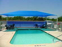 Shading your Memphis, TN pool area with awnings - Advanced ...