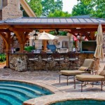 Ways to cook in style by your swimming pool