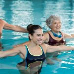 Soothe your aching back by swimming laps
