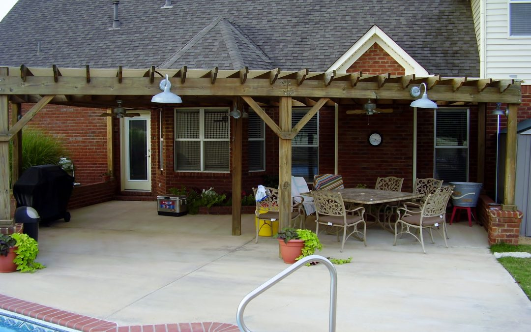 Talk with your pool contractor about a pool house